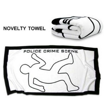 Toalla escena criminal