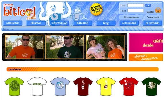 biticol tienda de camisetas