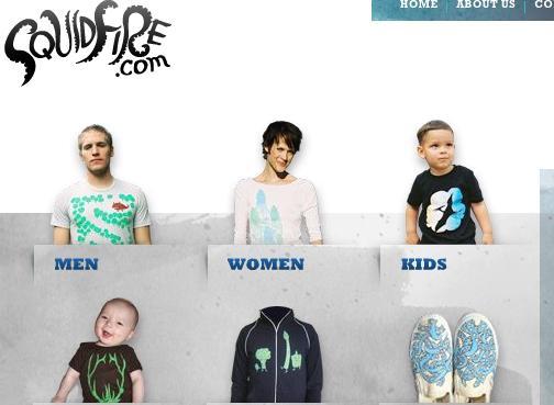 squidfire tienda de camisetas