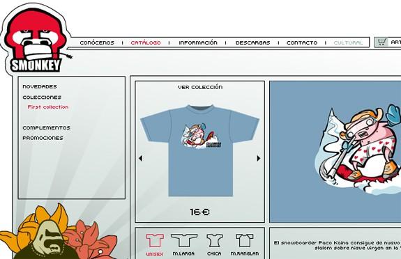 tienda online the smonkey