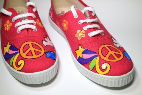 zapatillas peace and love